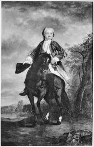 Portret van Unico Allard Alberda van Menkema (1726-1790)