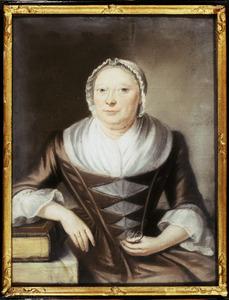 Portret van waarschijnlijk Anna Maria Meinertzhagen (1689-1778)