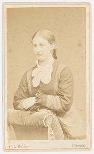 Portret van Wilhelmina Johanna Hendrika Mecklenbroick (1861-1908)