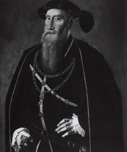 Portret van Reinoud III van Brederode (1492-1556)