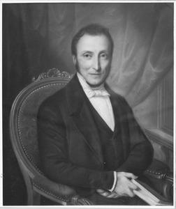 Portret van Jan Messchert van Vollenhoven (1812-1881)