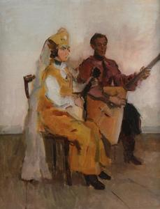 Balalaika spelers