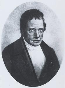 Portret van Adriaan Cornelis van Rossem (1783-1859)