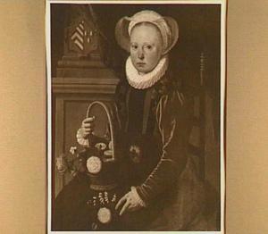 Portret van Cornelia de Vriese (1577/78-1622)
