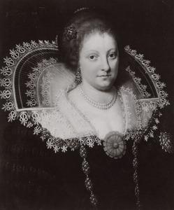 Portret van Anna Margaretha van Brederode (1595-1650)