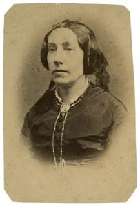 Portret van Jacqueline Henriette van Damme (1818-1894)