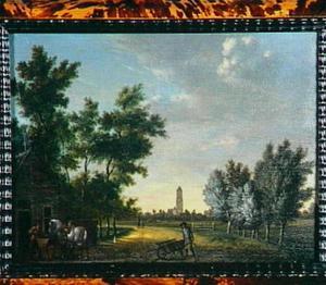 Landschap in de omgeving van Utrecht