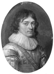 Portret van Hertog Ulrik, bisschop van Schwerin (1611-1633), zoon van Koning Christiaan IV van Denemarken