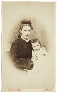 Portret van Antonia de Kock (1850-1927) en Marie Isabelle Françoise Schuller tot Peursum (1874-1948)