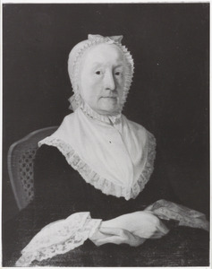 Portret van Johanna Elisabeth Meurs (1718-1782)