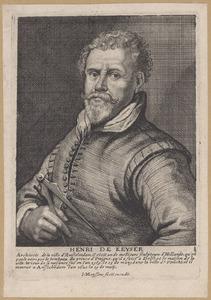 Portret van Hendrik de Keyser (1565-1621)