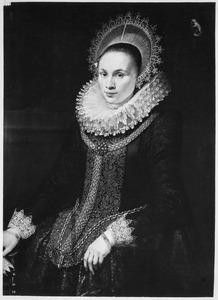 Portret van Maria van Beveren (1585-?)