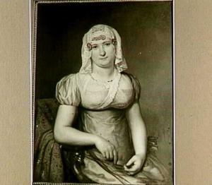 Portret van Anna Elisabeth Coopmans (1790-1870), echtgenote van Jan Daniel van der Plaats