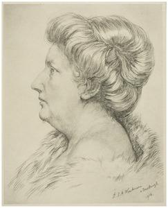 Portret van Jo Schreve-IJzerman (1868-1933)