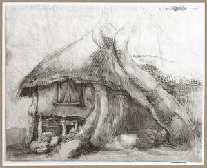 Boerderij met rieten dak