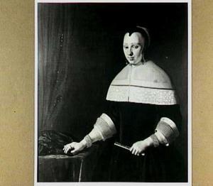 Portret van Agneta Bert (1634-1708)