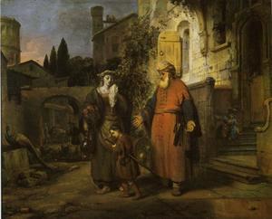 De wegzending van Hagar en Ismaël (Genesis 21:18-21)