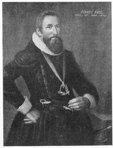 Portret van Albret Skeel (1572-1639)
