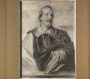 Portret van of Gaspar Gevartius (1593-1666)