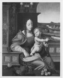 Maria met kind