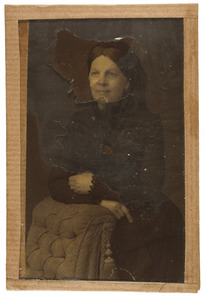 Portret van Louisa Anna Alexandrina Ram (1822-1892)