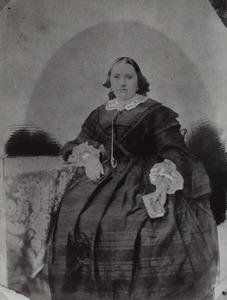 Portret van Catharina Maria van Bulderen (1822-1872)