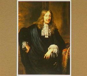 Portret van een man, mogelijk Adriaen Paets (1656-1712)