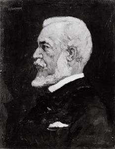 Portret van Johannes Bosboom (1817-1923)