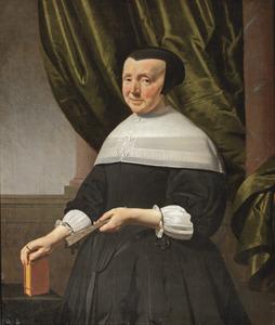 Portret van een vrouw, mogelijk een zuster van Cornelis Jacobsz. Groot