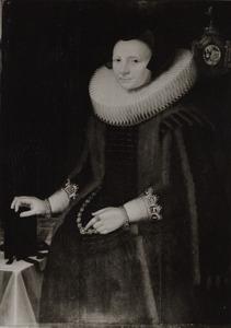 Portret van Clementia van Beaumont ( -1649)