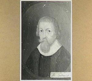 Portret van Simon Episcopius (Bisschop) (1583-1643)