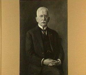 Portret van Dominicus Antonius Josephus Kessler (1855-1939), echtgenoot van Anna Christina Maria Helene Hülsmann