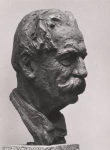 Portret van Albert Schweitzer (1875-1965)