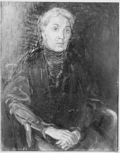 Portret van mevr. E.N. Langerhorst