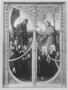 De HH. Willem van Maleval en Franciscus met stichters