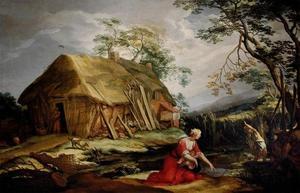 Latona en de Lycische boeren (Ovidius, Metamorfosen)