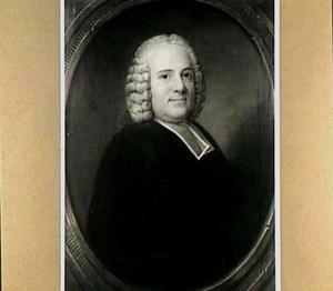 Portret van Jean Jacques Desmazures (1699-1776), predikant en theologisch schrijver