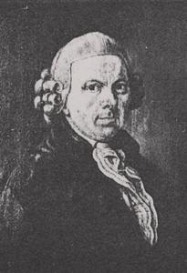 Portret van Hendrik Lofvers (1739-1806)