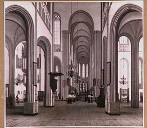 De Dom in Utrecht in 1672