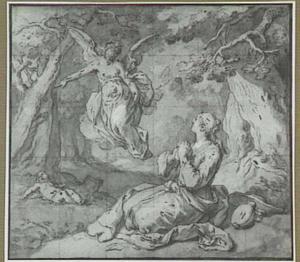 De engel wijst Hagar de bron (Genesis 21:14-21)