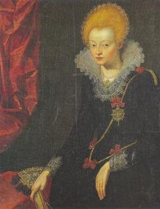 Portret van Barbara Hansdatter Wittrup (1591-1653)