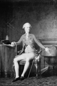 Portret van Frederik VI (1768- 1839) als kroonprins