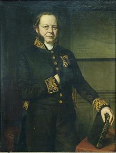 Portret van W.R. baron van Hoëvell
