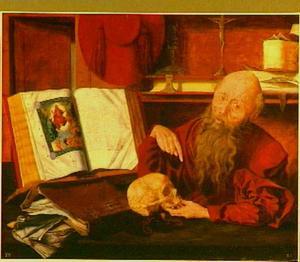 De H. Hiëronymus in zijn studeervertrek