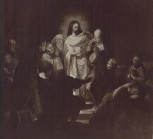 Christus toont zijn wonde aan de ongelovige Thomas