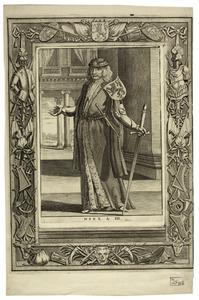 Portret van Dirk III van Holland ( -1039)