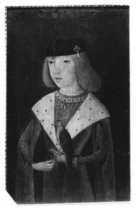Portret van Philips de Schone met een valk