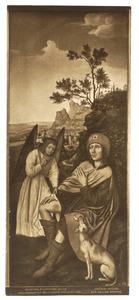 De H. Rochus en de engel