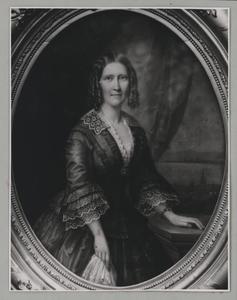 Portret van Anna Maria Margaretha van Hoorn (1820-1880)