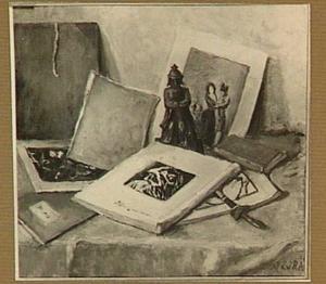 Stilleven met boeken